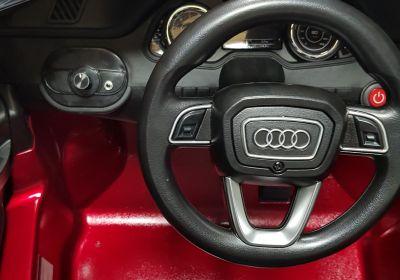 Accu Auto AUDI Q7 Rood Metallic 12V Deuren Rubber Banden-5