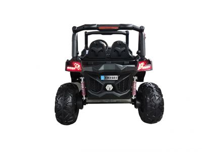 Accu Auto Cross Country DELUX 4X4 MP4-TV Zwart 2 Persoons Rubber Banden-3