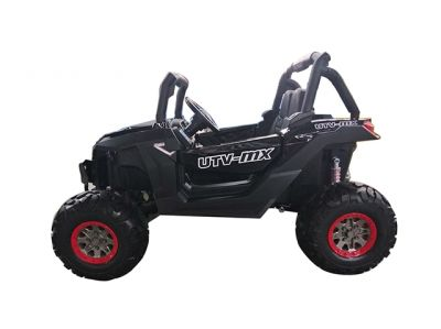 Accu Auto Cross Country DELUX 4X4 MP4-TV Zwart 2 Persoons Rubber Banden-4