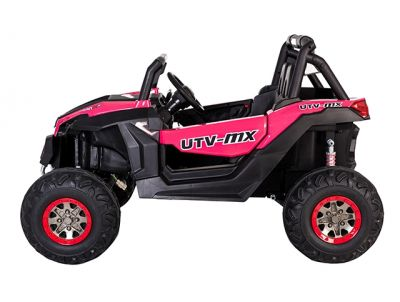 Accu Auto Cross Country DELUX 4X4 MP4-TV Roze 2 Persoons Rubber Banden-3