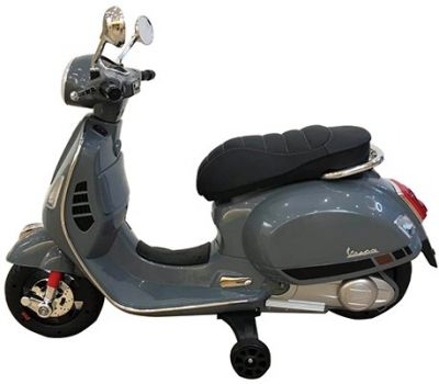 Accu Vespa GTS Scooter 12V Grijs -1