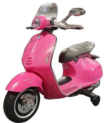 Elektrische Vespa Scooter Primavera 12V Roze