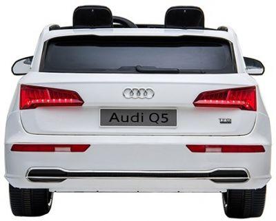 Accu Auto Audi Q5 Wit MP4 TV-Scherm 4X4 2 Persoons Rubber Banden-2