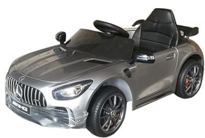Accu Auto Mercedes AMG GTR 12V 2,4G Zilver Metallic 1Pers