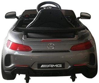 Accu Auto Mercedes AMG GTR 12V 2,4G Zilver Metallic 1Pers -1