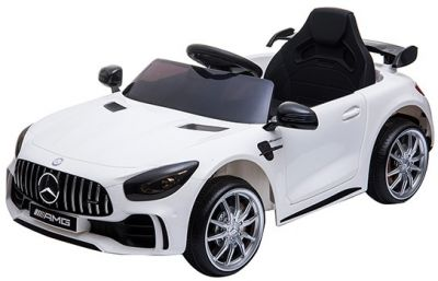Accu Auto Mercedes AMG GTR 12V 2,4G Wit 1Pers-1