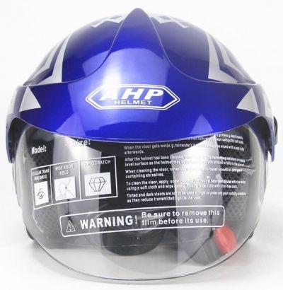 Scooter Helm Blauw-1