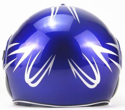 Scooter Helm Blauw-2