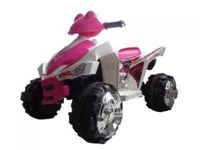 Accu Quad Cobra Roze 12V