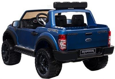 Accu Auto Ford Raptor 12V 2,4G Blauw Metallic -2