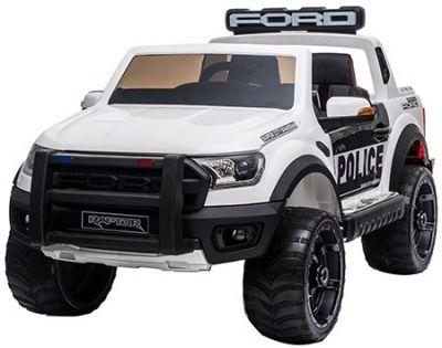 Accu Auto Ford Raptor POLICE Wit 12V 2,4G