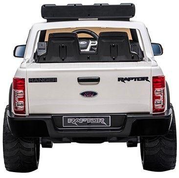 Accu Auto Ford Raptor POLICE Wit 12V 2,4G -2