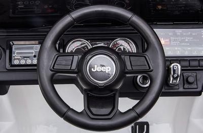 Accu Jeep Wrangler Rubicon Wit MP4 Scherm 12V 4X4 2.4G-4