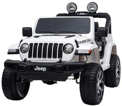 Accu Jeep Wrangler Rubicon Wit MP4 Scherm 12V 4X4 2.4G