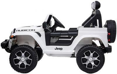 Accu Jeep Wrangler Rubicon Wit MP4 Scherm 12V 4X4 2.4G-1