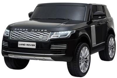 Accu Auto Range Rover 2 Pers. 4x4 Zwart Metallic MP4 Scherm 12V 2.4G