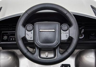Accu Auto Range Rover Evoque Zwart Metallic MP4 Scherm 12V 2.4G Rubber Banden-3