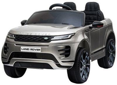 Accu Auto Range Rover Evoque Zilver Grijs Metallic MP4 Scherm 12V 2.4G Rubber Banden