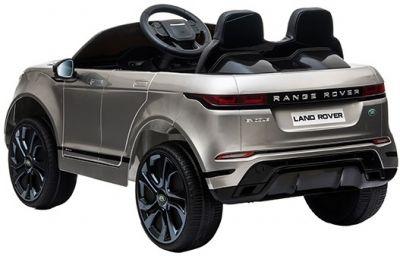 Accu Auto Range Rover Evoque Zilver Grijs Metallic MP4 Scherm 12V 2.4G Rubber Banden-2