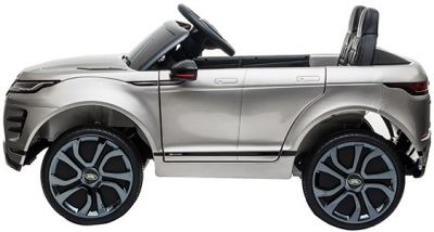 Accu Auto Range Rover Evoque Zilver Grijs Metallic MP4 Scherm 12V 2.4G Rubber Banden-1