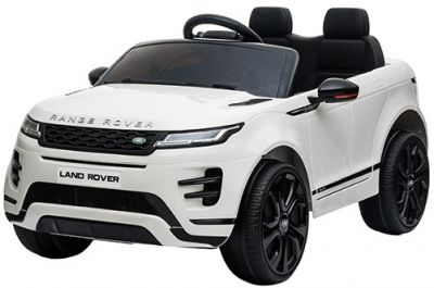 Accu Auto Range Rover Evoque Wit MP4 Scherm 12V 2.4G Rubber Banden