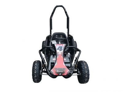 Midi Buggy XL Zwart Brushless 1000W 48V -3