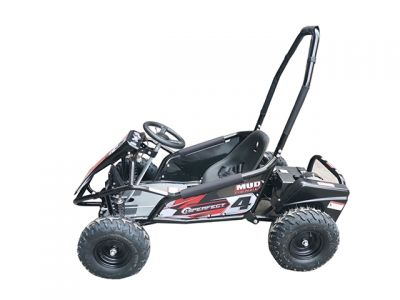 Midi Buggy XL Zwart Brushless 1000W 48V -4