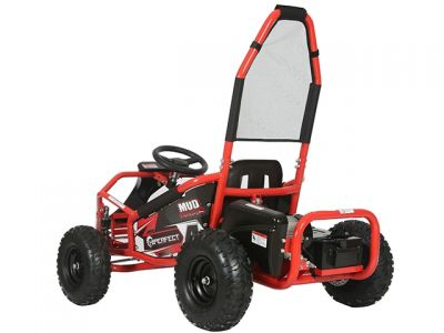 Midi Buggy XL Rood Brushless 1000W 48V Met Vering -1