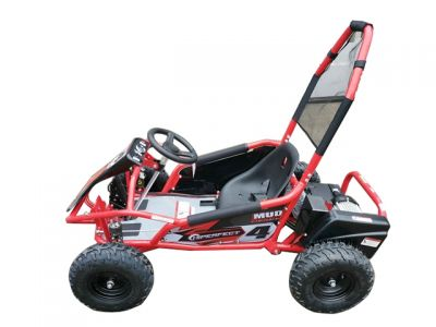 Midi Buggy XL Rood Brushless 1000W 48V Met Vering -2