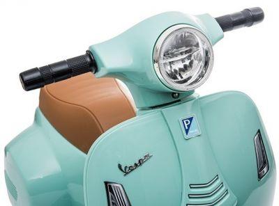 Accu Vespa H1 Scooter 6V Roze -4