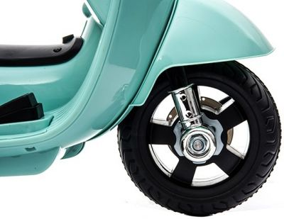 Accu Vespa H1 Scooter 6V Groen -3