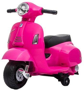Accu Vespa H1 Scooter 6V Roze