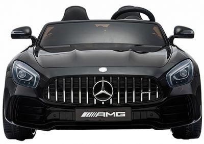 Accu Auto Mercedes AMG GTR 4X4 12V Zwart Metallic 2 persoons