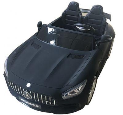 Accu Auto Mercedes AMG GTR 4X4 12V Mat Zwart 2 persoons
