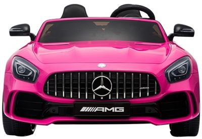 Accu Auto Mercedes AMG GTR 4X4 12V Roze 2 persoons