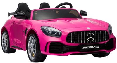Accu Auto Mercedes AMG GTR 4X4 12V Roze 2 persoons-2