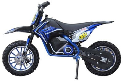 Mini Cross Bike JUMPER PRO Blauw 500W 36V-2