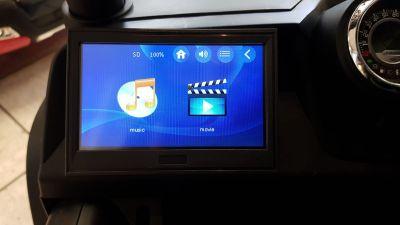 Accu Auto Mercedes Unimog 4X4 MP4-TV Zwart Metallic 2 Persoons Rubber Banden-4