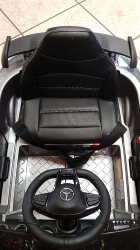 Accu Auto Mercedes AMG GTR 12V 2,4G Zilver Metallic 1Pers -3