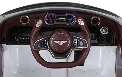 Accu Auto BENTLEY EXP12 Wit 12V 2,4G Leder Stoel Rubber Banden-3