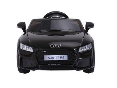 Accu Auto Audi TTRS Zwart 12V Lederen Stoel Rubber Banden-3