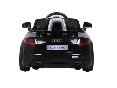 Accu Auto Audi TTRS Zwart 12V Lederen Stoel Rubber Banden-1