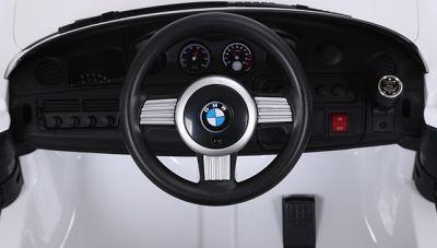 Accu Auto ACTIE BMW Z8 Wit 12V 2.4G Rubber Banden-3