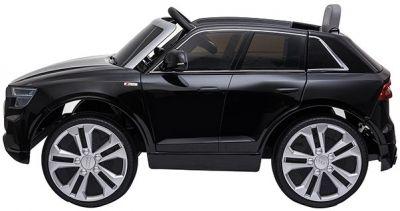 Accu Auto AUDI Q8 Zwart Metallic 12V 2,4G Deuren Rubber Banden-1