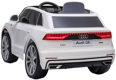 Accu Auto AUDI Q8 Wit 12V 2,4G Deuren Rubber Banden-2
