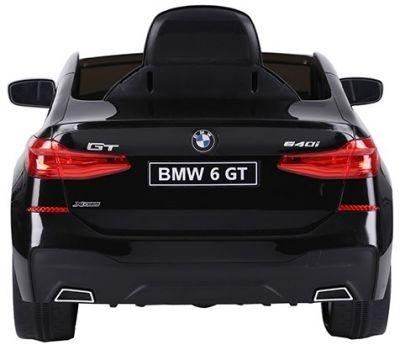 Accu Auto BMW 6-Serie GT Zwart 12V 2.4G Rubber Banden-2