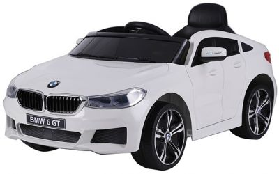 Accu Auto BMW 6-Serie GT Wit 12V 2.4G Rubber Banden