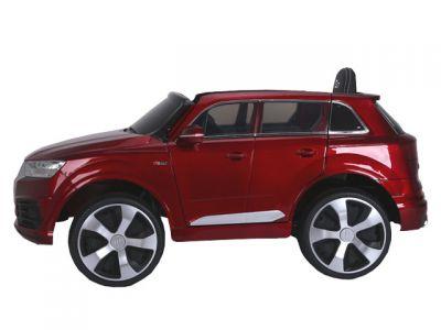 Accu Auto AUDI Q7 Rood Metallic 12V Deuren Rubber Banden-1