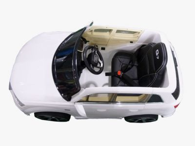 Accu Auto AUDI Q7 Wit 12V Deuren, Rubber Banden-2