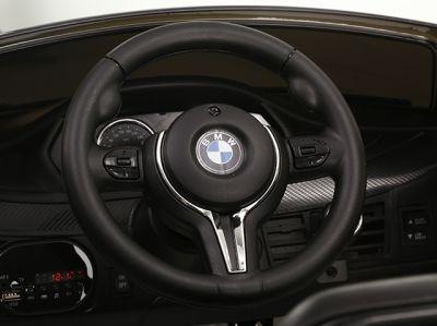Accu Auto BMW X6M 1 Pers. Zwart Metallic 12V 2.4G Rubber Banden-4